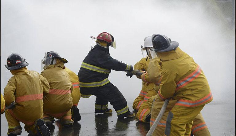 Equipos de bomberos